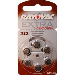Extra Advanced 312 İşitme Cihazı Pilleri 6 lı 1.4V