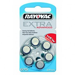 Extra Advanced 675 İşitme Cihazı Pilleri 6 lı 1.4V